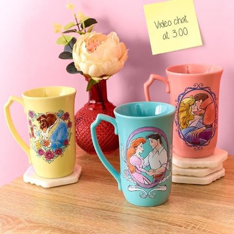4件8折 3件8.5折 2件9折Disney 精选可爱水杯热卖 爱丽丝、史迪奇、米奇米妮都有