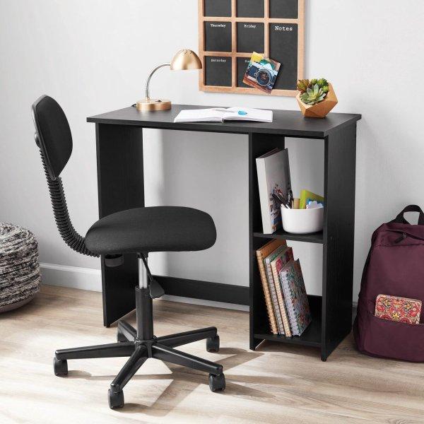简约书桌写字台 黑色