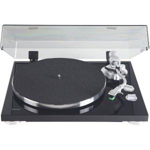 $169Teac TN-350-MB 2速皮带传动黑胶唱片机