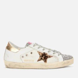 Golden Goose Deluxe Brand满$553立减$180!Women's Superstar运动鞋