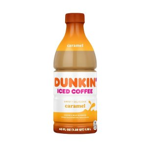 每瓶$4.79上新:Dunkin Donuts 焦糖冰咖啡 40oz