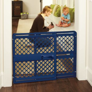 North States Supergate Classic Baby Gate, 26''-42'' Easy to Use