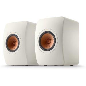 KEFKEF LS50 Meta (Mineral White) Bookshelf speakers at Crutchfield