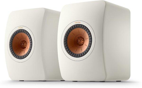 KEF LS50 Meta (Mineral White) Bookshelf speakers at Crutchfield