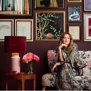 $24起 霹雳娇娃女主品牌Flower Home 来自好莱坞女星德鲁·巴里摩尔