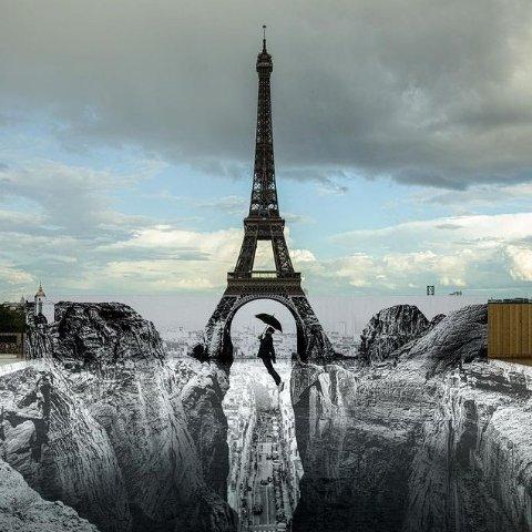 """€10.99收三合一自拍杆天啦噜!巴黎埃菲尔铁塔竟然出现""""巨大裂缝""""?!"""