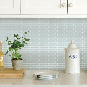 $6.49起厨房装饰马赛克墙贴 易贴好清理 中式烹饪必备