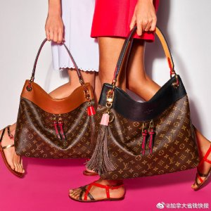 老花马鞍包$2334 补货抢上新:24S官网 Louis Vuitton经典单品 封面补货$2139