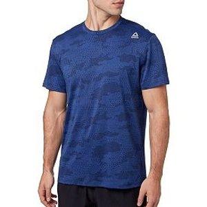 ReebokMen's Jacquard Performance T-Shirt