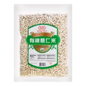 SPRING FARM Organic Pearl Barley 400g