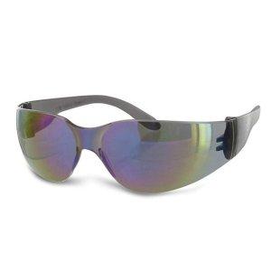 $1.60Radians Rainbow Mirror Safety Glasses, Scratch-Resistant, Wraparound