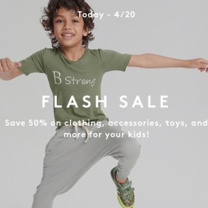 Extra 50% OffKid's Select Items Sale @ Barneys Warehouse
