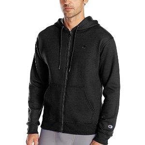 $21.51($39.95) Champion Men's Powerblend Fleece Full-Zip Hoodie