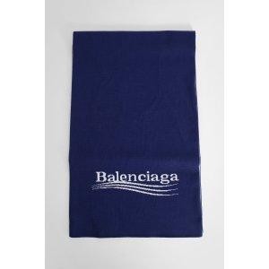 BalenciagaLOGO 围巾