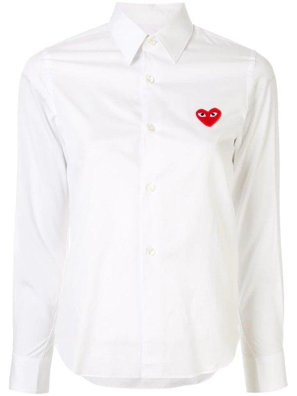 Logo 刺绣标衬衫