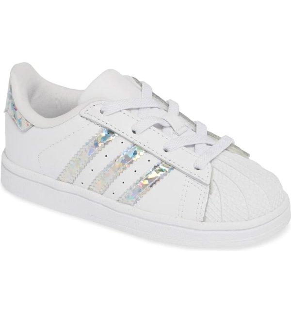 Superstar 银色运动鞋 大童