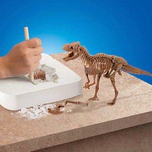 低至$9.74儿童STEM益智玩具特卖,收透明发动机套装、恐龙化石挖掘
