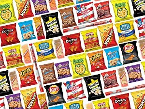 Ultimate Snack Care Package, Variety Assortment of Chips, Cookies, Crackers & More, 40 Count : Grocery & Gourmet Food
