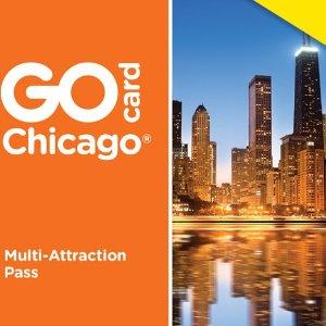 节省超过50%+限时额外8折芝加哥 Go Card 旅行通票 含29个景点/活动/门票