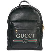 Gucci Print 双肩包