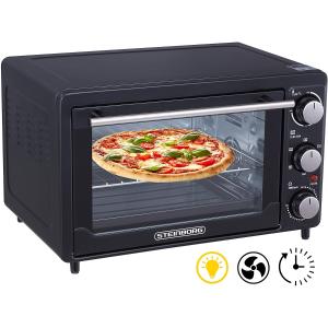 折后仅€39.9 原价€44.9Steinborg 超值mini烤箱 完美适配速冻披萨 一个人也要吃得好