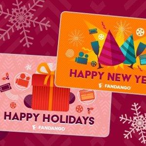 满$100送$20 变相8.3折Fandango 电影礼卡 节日促销 送小食券