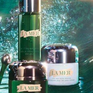 任购送3件套(价值$110+)La Mer 眼霜专区 浓缩、白眼霜、鎏金不踩雷指南