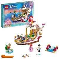 Lego Disney 美人鱼Ariel爱丽儿的皇家庆典船 41153