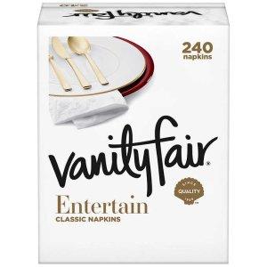 黑五开抢:Vanity Fair 3层餐巾纸,60张,4包