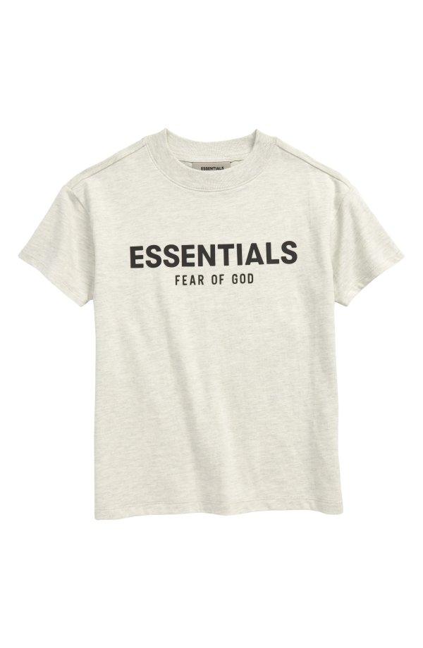 儿童logo T恤