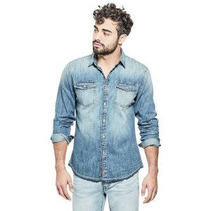 GuessThorton Denim Shirt