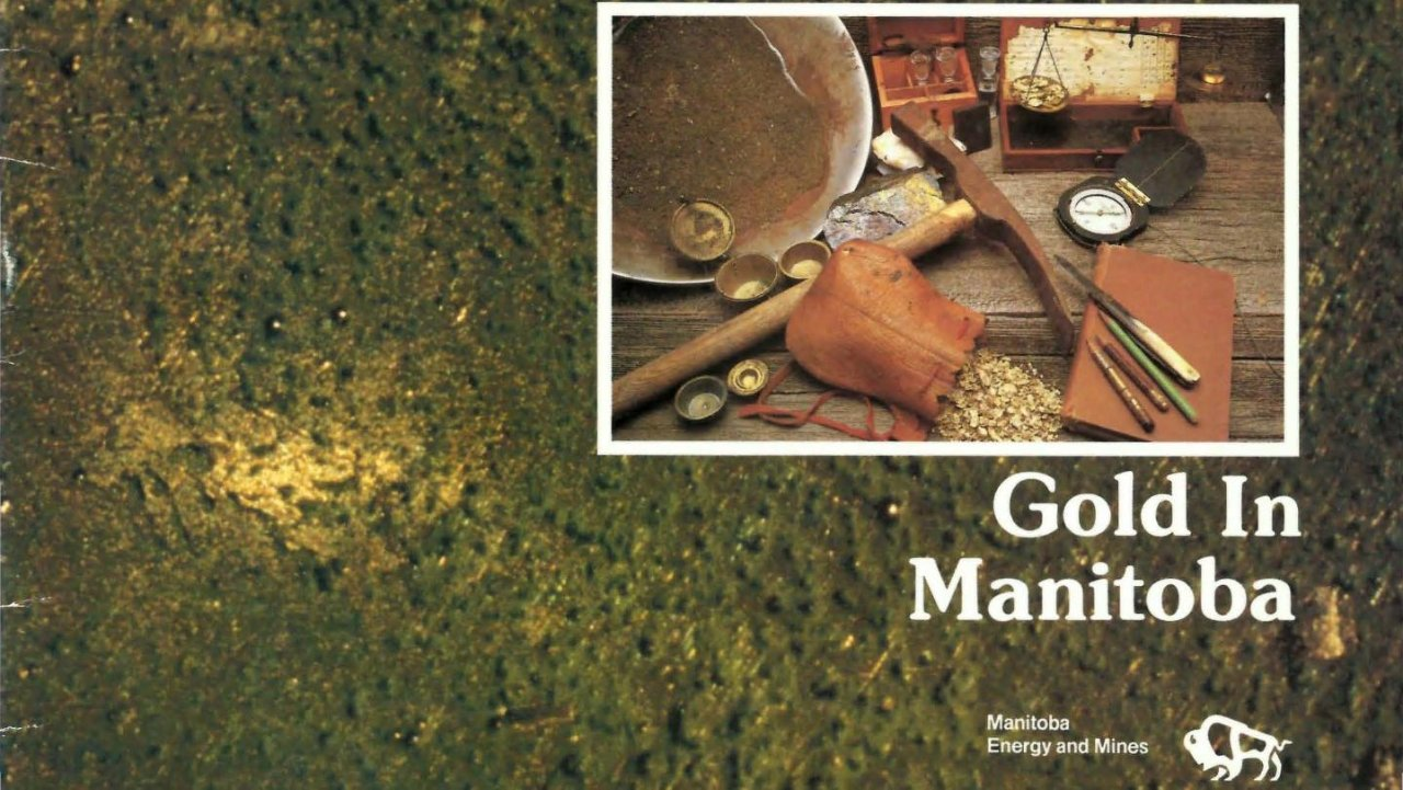 曼尼托巴省的黄金