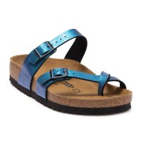 Birkenstock 银蓝色凉鞋