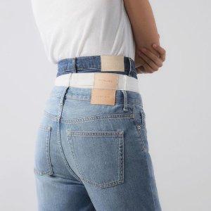 低至5折 $47收直筒牛仔裤折扣升级:Everlane 裤装专场 $69收休闲阔腿裤 $51收运动裤