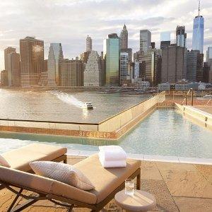 $322起纽约5星级网红酒店 布鲁克林大桥1号酒店
