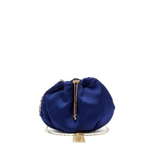 Rosantica缎面金链挎包
