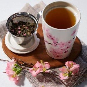 5.6折 $14收超美樱花杯限今天:精选 Tea Forte创意节日茶品及茶具等一日促销