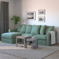 Ikea GRONLID 布艺沙发 浅绿色
