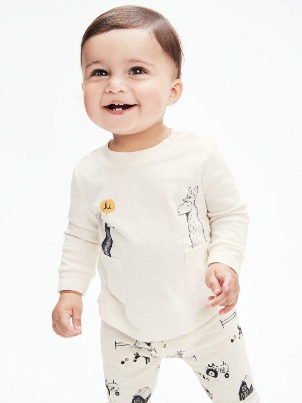 有机棉 婴儿上衣