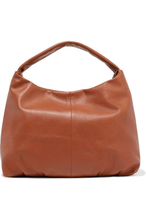 焦糖色手提包