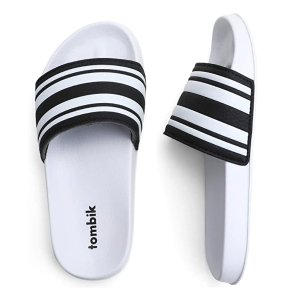 儿童条纹拖鞋