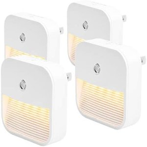 HooYan 直插式LED小夜灯 4个