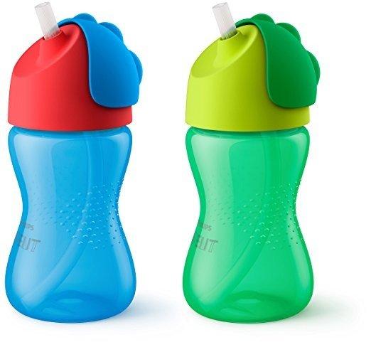 蓝+绿色宝宝水杯,10盎司