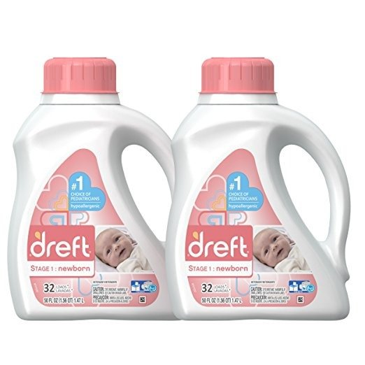 新生儿用洗衣液50 Ounce 2瓶