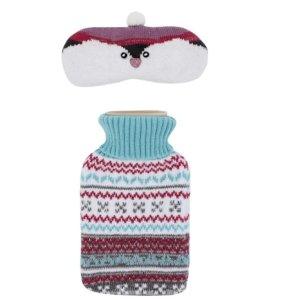 $20 (原价$40)Totes 可爱暖心热水袋+ 眼罩套装