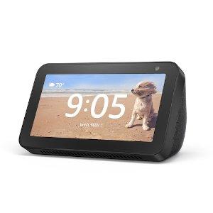 $49.99黑五预告:Echo Show 5 5.5寸 Alexa语音助手 智能显示器