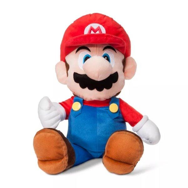 Nintendo Mario 抱枕