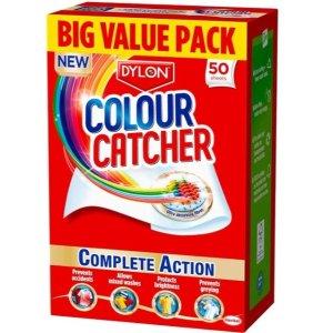 £3.75收50张防染纸Dylon 洗衣神器 防染色洗衣纸好价 再也不用担心混洗染色啦