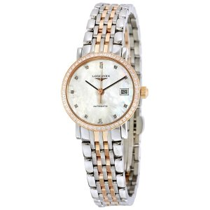 Extra $50 OffDealmoon Exclusive: LONGINES Eleganrt Collection Automatic Ladies Watch L4.309.5.88.7