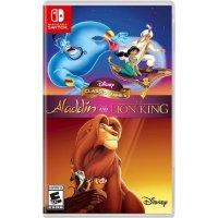 Nintendo 迪士尼 阿拉丁+狮子王 合集 Switch 实体版